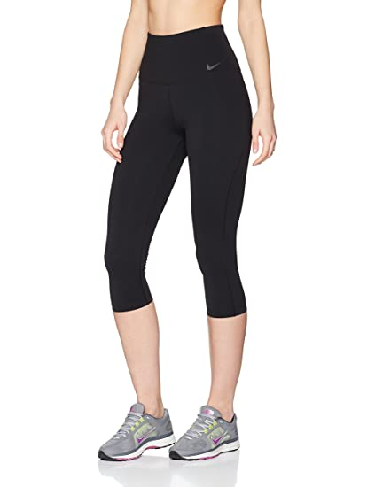 eaa0bd68d43fd Amazon.com: Nike Power Legendary High Rise Training Capri Black/Black  Women's Capri: Sports & Outdoors