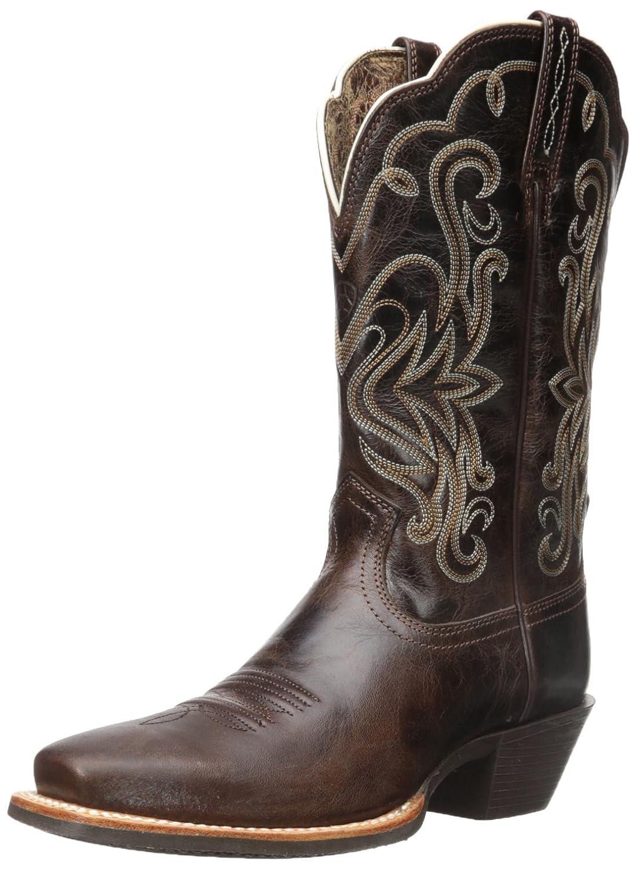 Ariat Women's Legend Western Cowboy Boot B0091V5TUA 9.5 B(M) US|Chocolate Chip