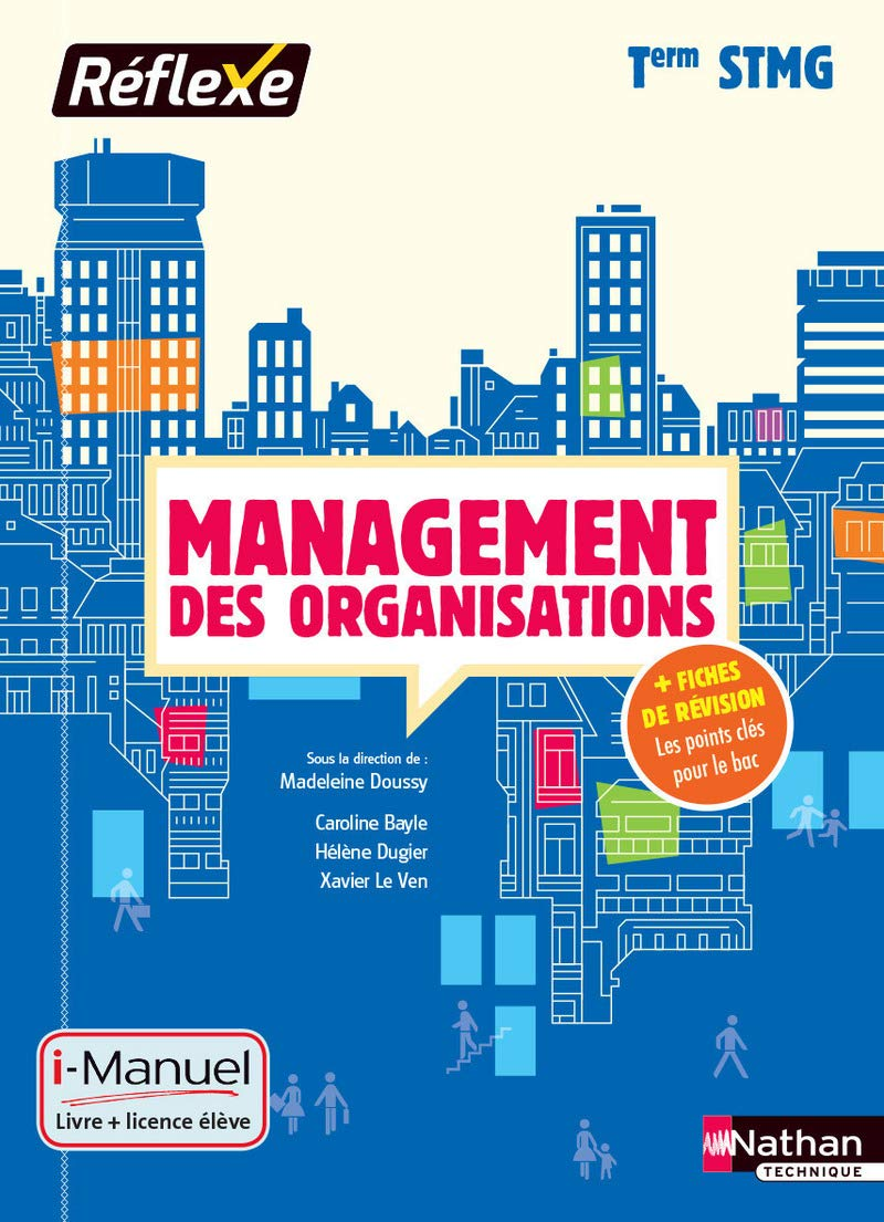 Management des organisations Tle STMG   Collection Réflexe