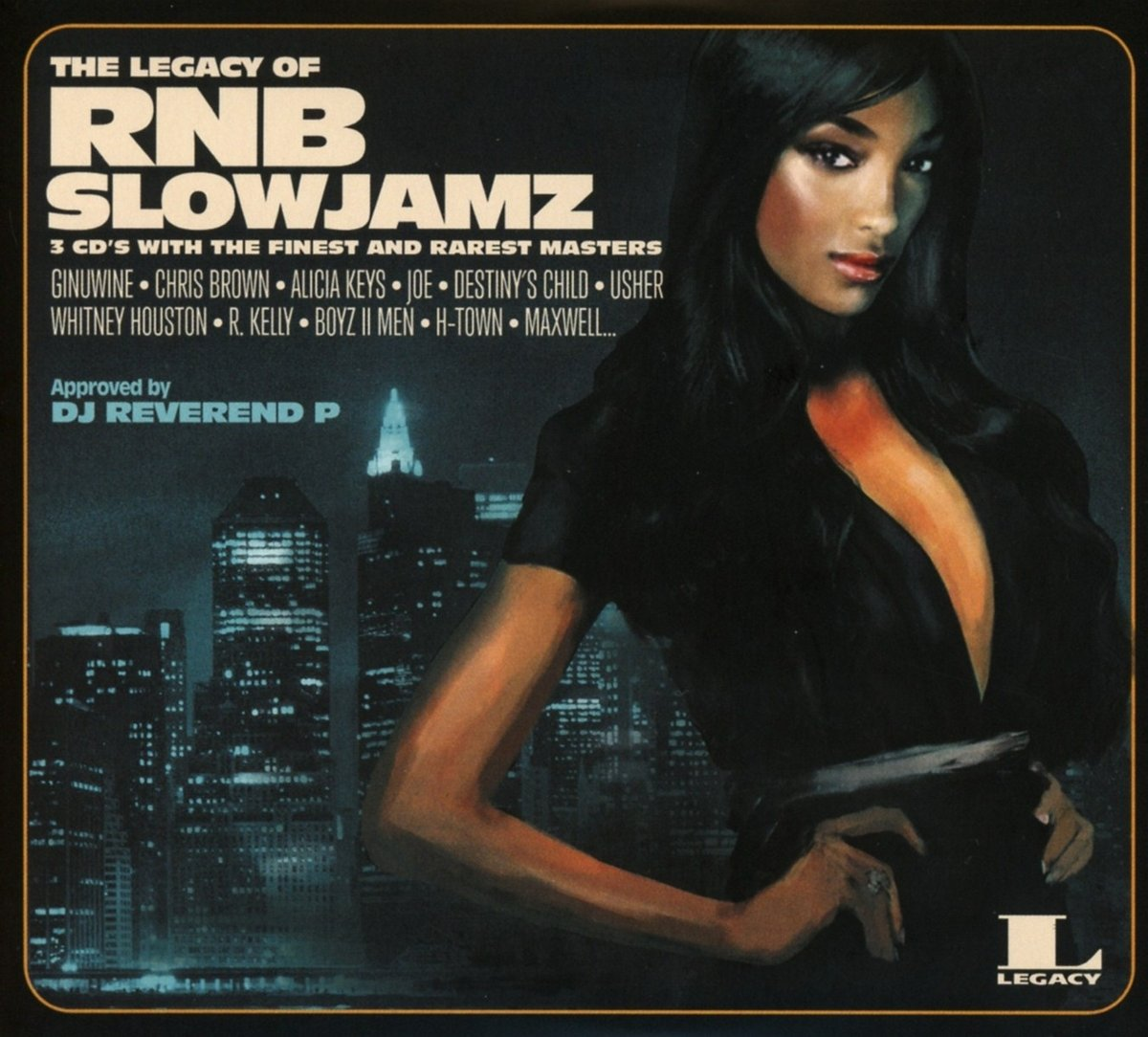 VA - The Legacy Of RNB Slowjamz (2016) [FLAC] Download