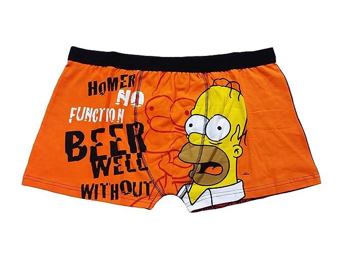 Hombre Homer Simpson This Dude Rocks de algodón Ropa Interior Calzoncillos Tipo bóxer