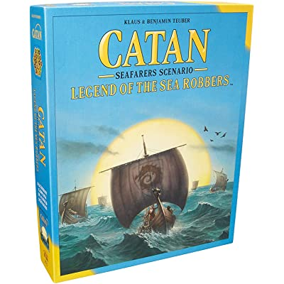 Catan: Legend of the Sea Robbers: Toys & Games