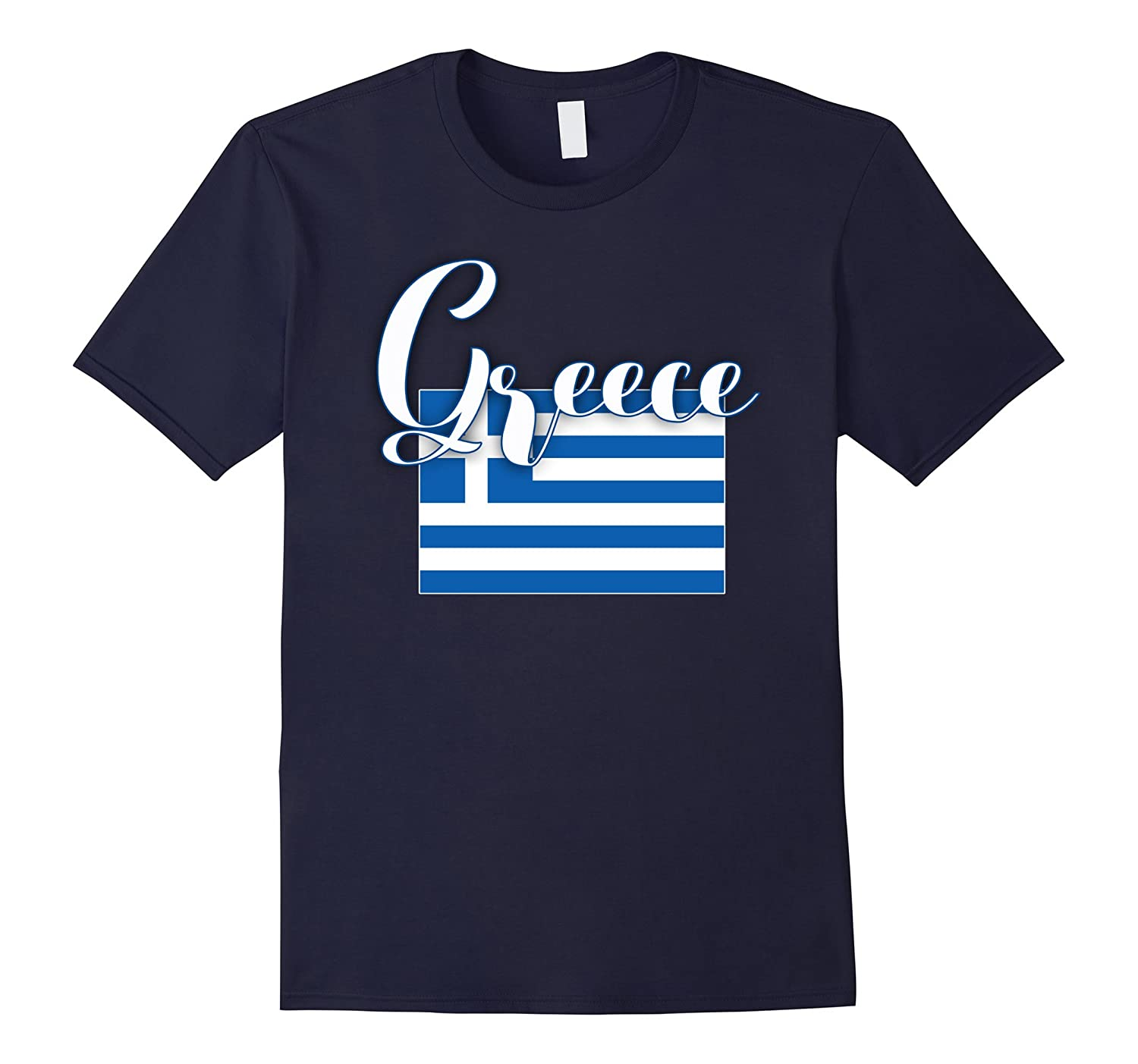 Greece Flag Shirt Greece Tshirt-BN