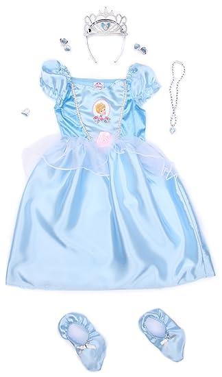 Rubie`s - Disfraz infantil de Cenicienta clásico, con accesorios ...