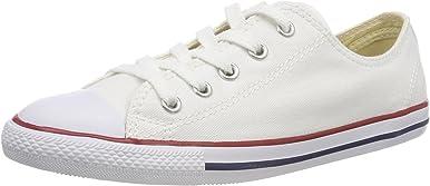 Converse Chuck Taylor Dainty Ox Zapatos de mujer color blanco 537204F