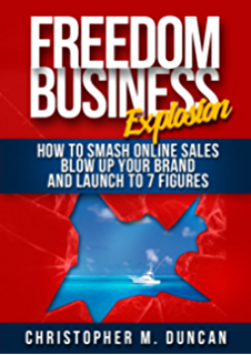Amazon the freedom business blueprint how to escape your job the freedom business explosion how to smash online sales blow up your brand and malvernweather Gallery