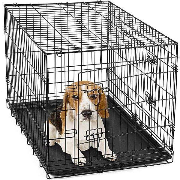 Gr8 Home Jaula de Metal para Mascotas, Perro, Gato, Cachorro ...