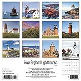 New England Lighthouses 2020 Wall Calendar