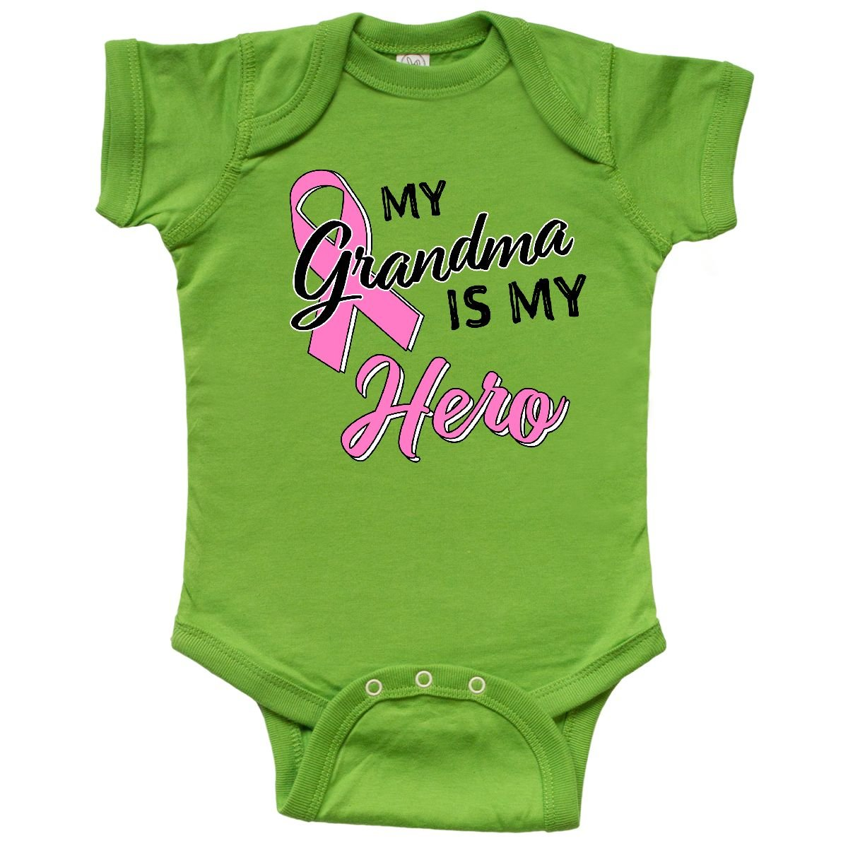 9c2883466 Amazon.com  inktastic - My Grandma is My Hero- Breast Cancer ...
