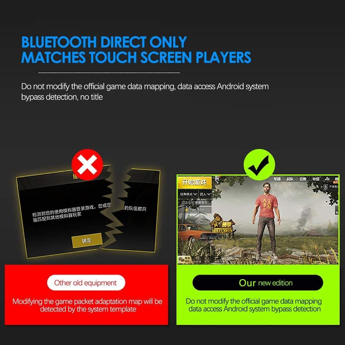 OUYAWEI Favorite for PUBG Mobile Phone Game Controller Mouse Keyboard Battledock Converter