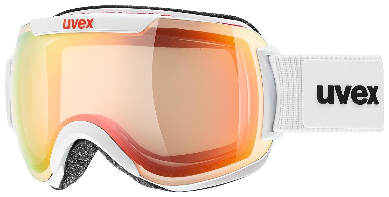 Uvex Occhiali da Sci Unisex per Adulti Downhill 2000 V Colore: Bianco Taglia Unica