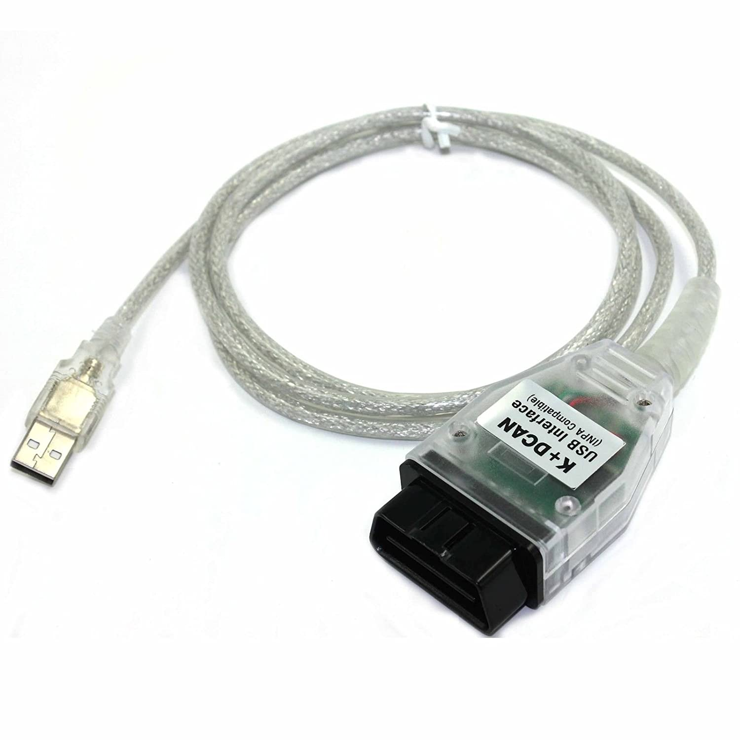 Amazon.com: JahyShow for BMW INPA/Ediabas K+DCAN USB Interface OBDII OBD2  Car Diagnostic Tool Cable: Automotive