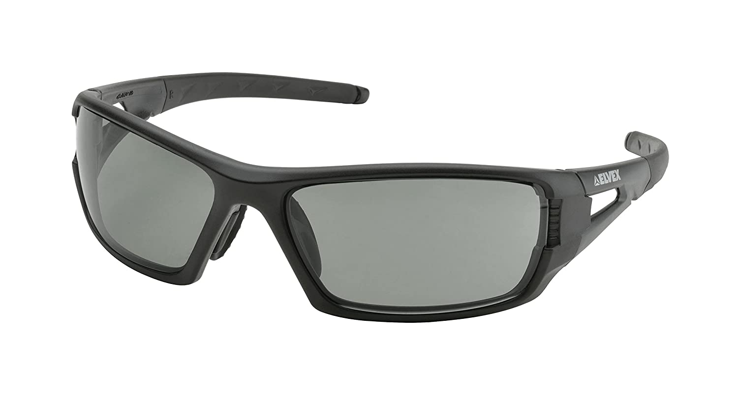 Elvex RimFire Tactical Ballistic Rated Safety//Sun Glasses 2 Height 4 Wide 10 Length Polycarbonate One Size WELSG61PL