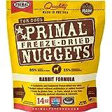 Primal Pet Foods Freeze-Dried Canine Rabbit Formula, 14 Oz