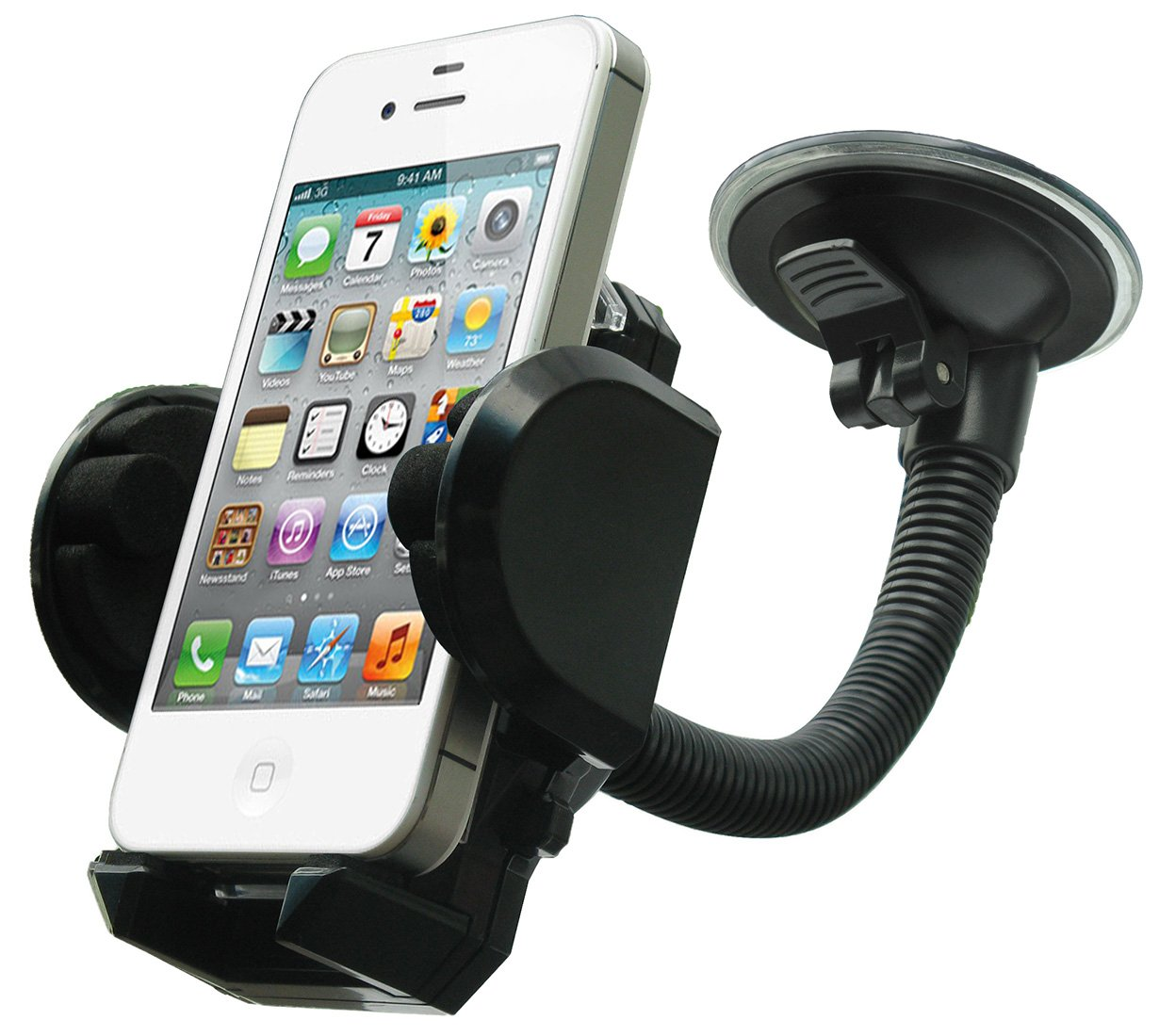 amazon com lotfancy cell phone holder mobile phone car mount