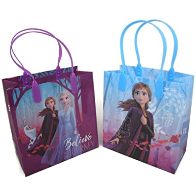 "Disney Frozen Good Quality Party Favors Reusable Small Goodie Bags 6"": Toys & Games [5Bkhe0506411]"