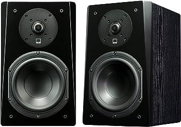 Premium Black Ash SVS Prime Satellite Speakers Pair