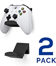 Game Controller Wall Mount Stand Holder (2 Pack) for XBOX ONE SWITCH PS4 STEAM PC NINTENDO, Universal Gamepad Accessories -