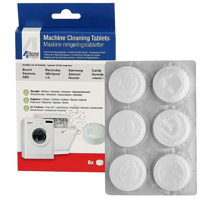 Qualtex - Pastillas de limpieza 3 en 1 para lavavajillas Hoover y ...