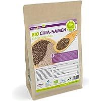 Vita2You BIO Chia Samen Organic - 1kg Zippbeutel - 1er Pack (1000g) - Salvia Hispanica