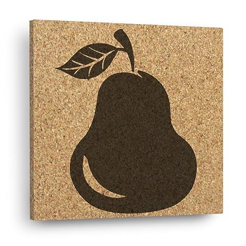 Amazon.com: PEAR Wall DéCork - Mix and Match Cork Decor Tiles ...
