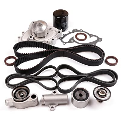 ECCPP Timing Belt W/Water Pump Kit For Toyota Highlander Lexus ES300 V6 3.0 3.3L: Automotive