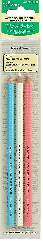 Clover Water Soluble Pencil Assortment, 3EA (Q5003)
