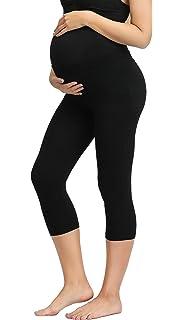 4d2c73903df5b Women's Maternity Cropped Lounge Comfy Long Pants/Capri Pants Leggings