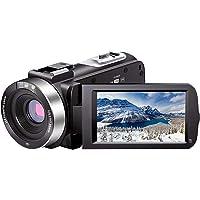 Video Camera Camcorder Full HD 1080P 30FPS 24.0 MP IR Night Vision Vlogging Camera Recorder 3.0 Inch IPS Screen 16X Zoom…