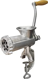 Weston #8 Manual Tinned Meat Grinder and Sausage Stuffer (36-0801-W)