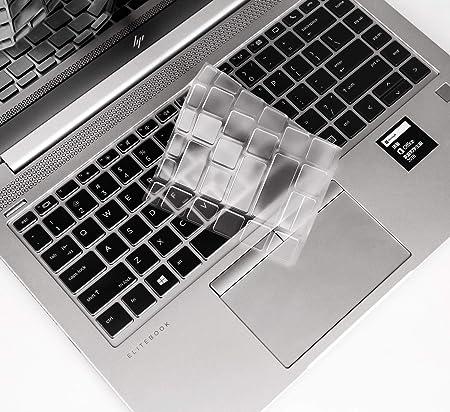 Funda para Teclado Ultra Delgada Compatible con HP EllitBook 745 G5 & HP EliteBook 840 G5 14