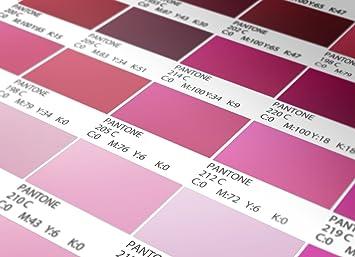 Pantone Fliesenaufkleber Rot Modell Wandfarben Ideen (Packung Mit 56)  (BODEN   30 X