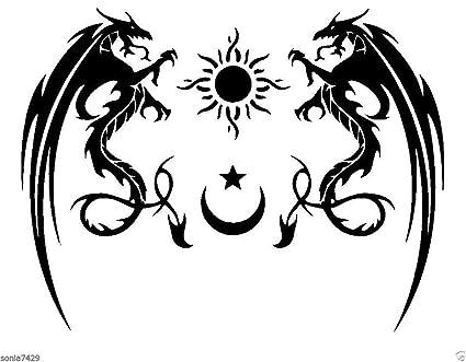 Line Art Of Sun : Amazon.com: tribal star sun moon wax seal stamp: toys & games