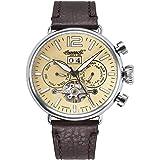 Ingersoll Herren Analog Automatik Uhr mit Leder Armband IN1230CR