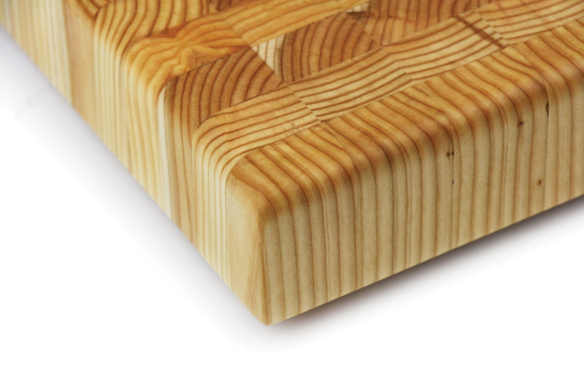 Larch Wood 24 x 18 x 2-inch End Grain Cutting Board by Larch Wood (Image #2)