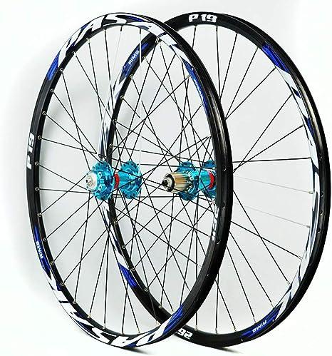 LIDAUTO 700C Bicicleta Ruedas Tubular Mate Ultra Ligero 700C 7/8/9/10/10/11 Volantes 29,Blue,26in: Amazon.es: Deportes y aire libre