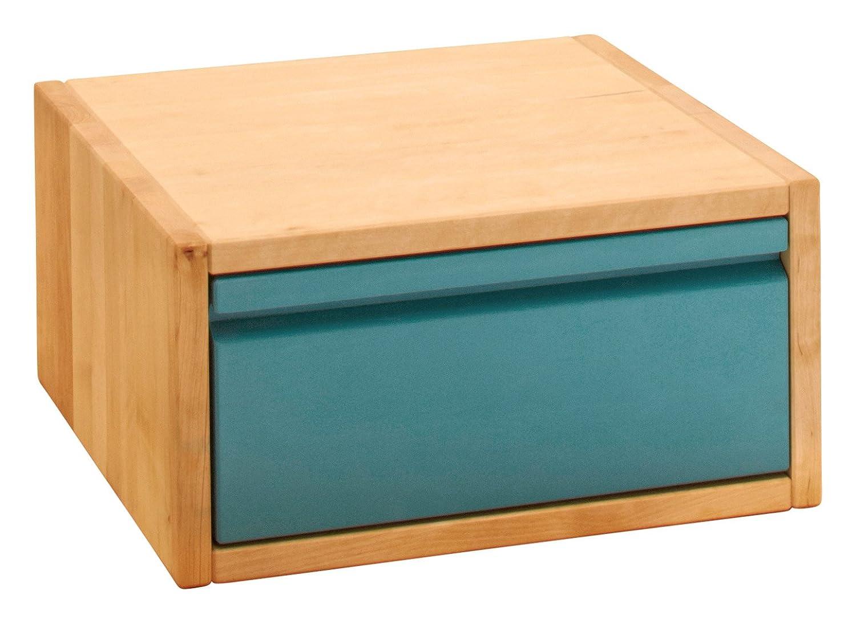 selección larga Bio-Kinder Cubo Cubo Cubo de Laura con Cajon 20 cm, 40 cm, de Madera Maciza biológica, Farbe:Ocean-Blau (Mouml;bel)  100% precio garantizado