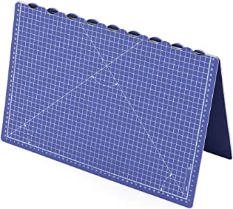 Aibecy Estera de corte giratoria de auto curación, estera plegable de A2 a A3 para coser acolchar el arte de corte: Amazon.es: Oficina y papelería