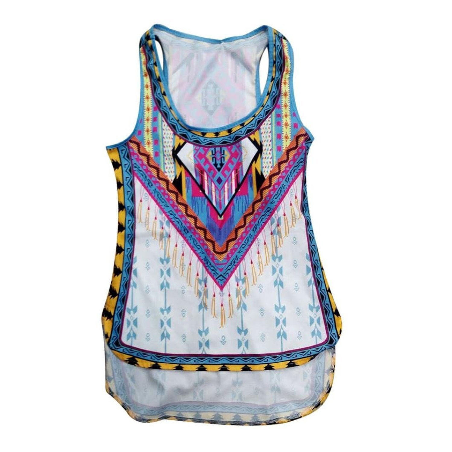 Mosunx(TM) Women New Summer Vest Top Sleeveless Blouse Casual Tank Tops T-Shirt at Amazon Womens Clothing store: