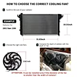 Universal Slim Fan Push Pull Electric Radiator