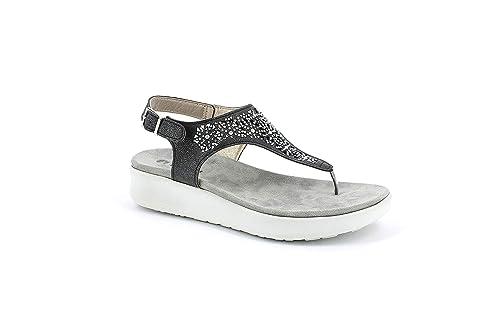 Sandalo Nero38 Donna Inblu Infradito Itscarpe Euamazon Rjql354a Dv6 E bYf76gy