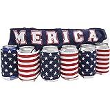 Merica Flag Beer Belt