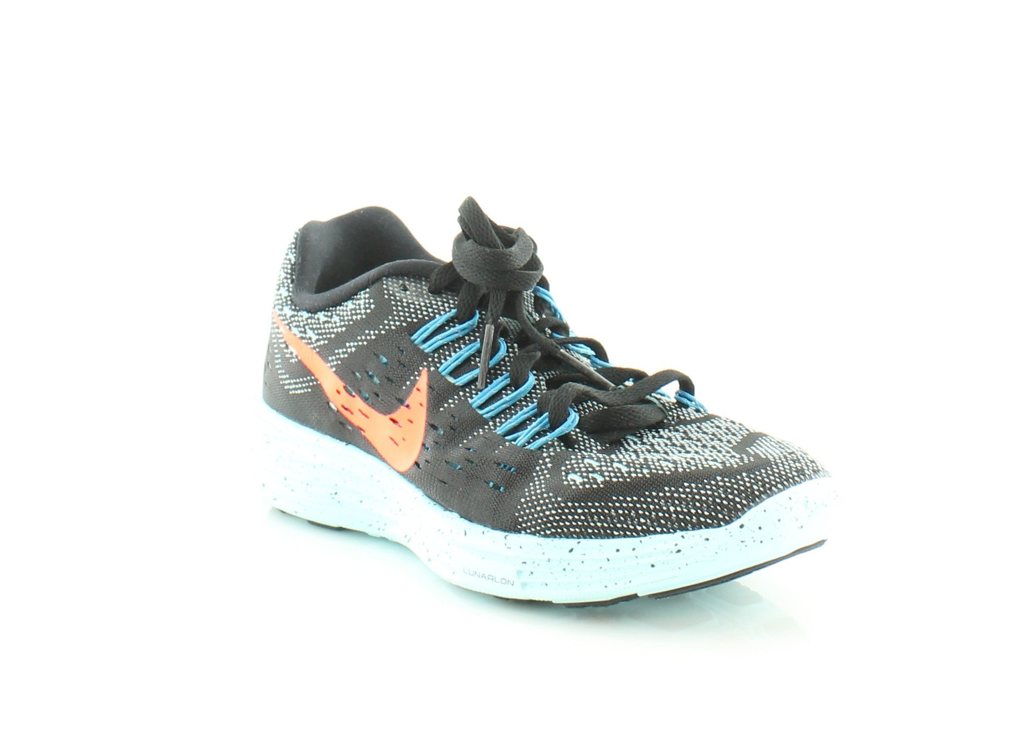 new products eee39 853a3 Galleon - Nike Women s LunarTempo Running Shoes 5 M US Black Copa Blue  Lagoon Hyper Orange