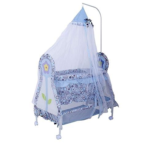 Buy Baybee Flower Printed Baby Comfort Cradle Cot New Born Baby
