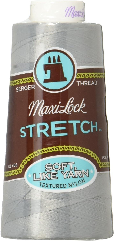 1.828,8/m American /& Efird Maxi Lock Stretch Thread Kaki