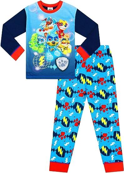 Paw Patrol Short Pyjamas Boys 3 to 7 Years Nick Jr Blue