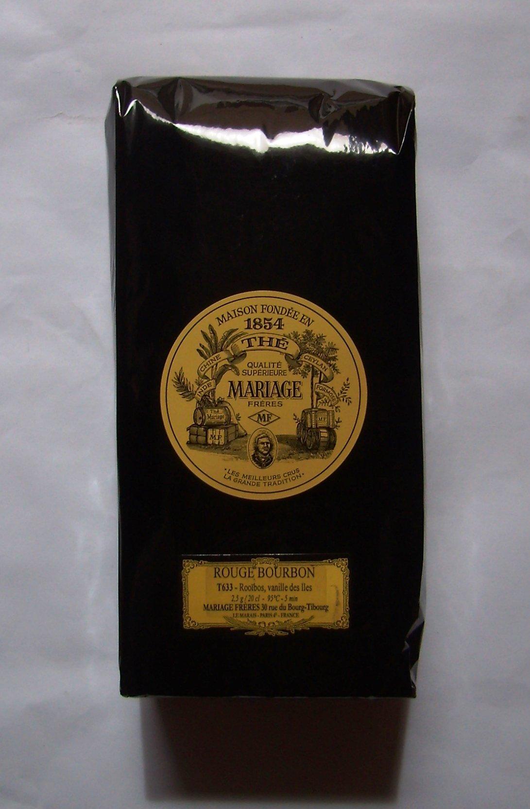 Mariage Frères - ROUGE BOURBON - LOOSE LEAF BAG - 17.63oz / 500gr