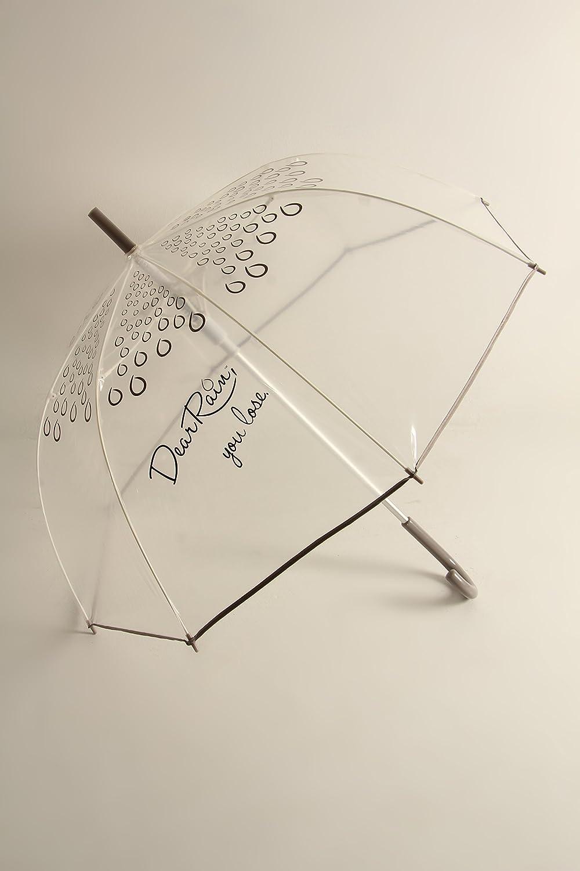 You Lose Dear Rain - Bubble Umbrella Gray