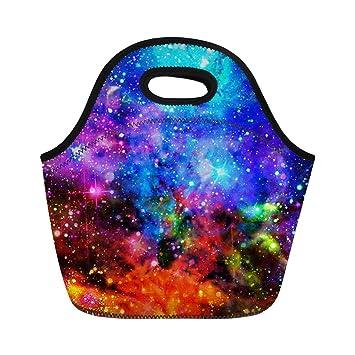 HUGS IDEA Galaxy Star - Bolsa térmica de neopreno para el almuerzo Galaxy 3