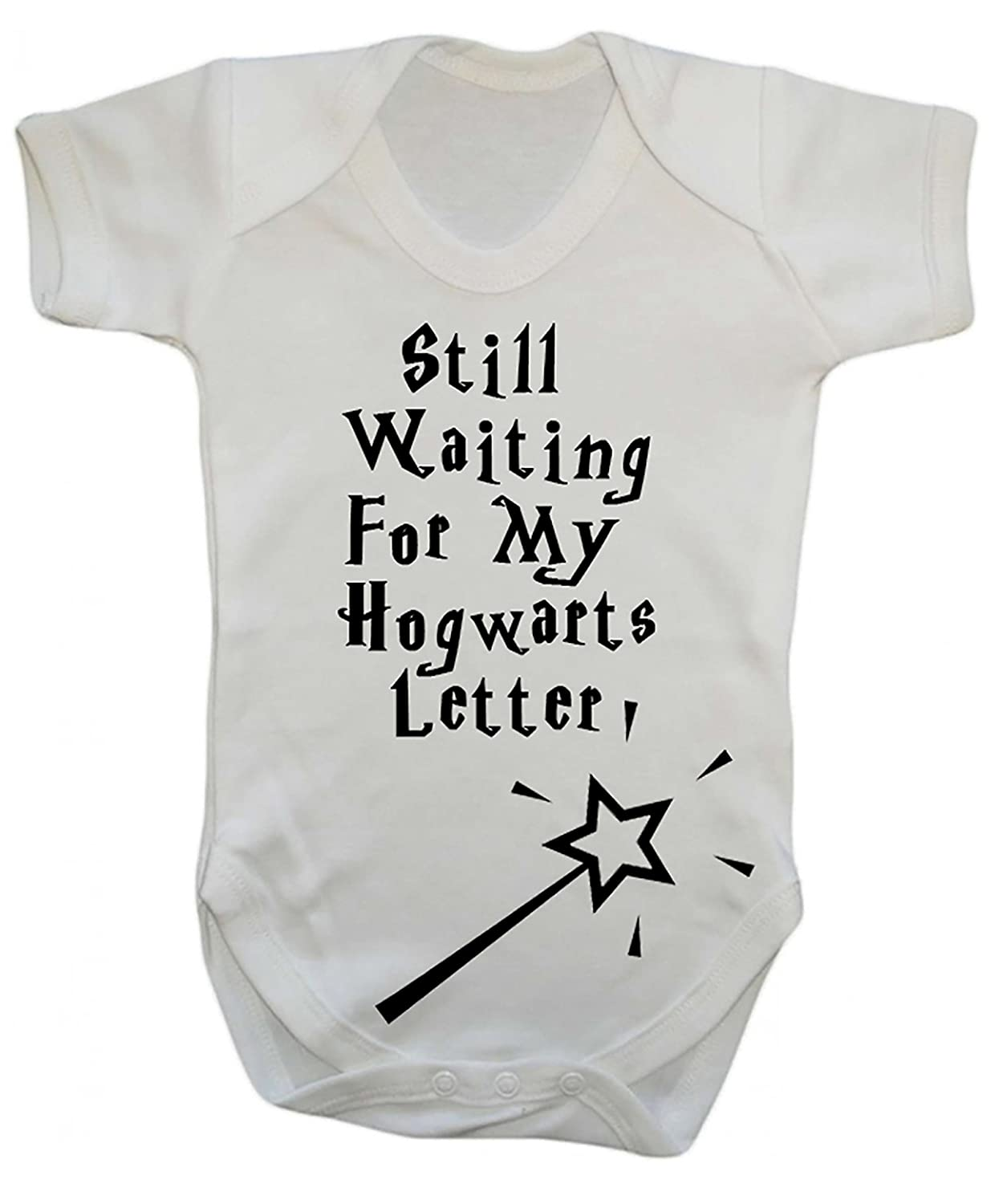 1c7b764b6 Funny Harry Potter Hogwarts Babygrow (Newborn)  Amazon.co.uk  Baby